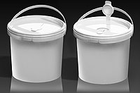 New lid  seals for wet wipes pails